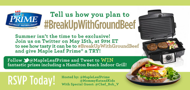 breakupwithgroundbeef twitter party