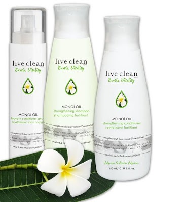 Live clean exotic vitality polynesian collection