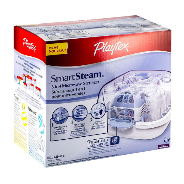 playtex smartsteam sterilizer
