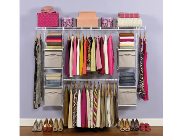 rubbermaid closet helper max add-on