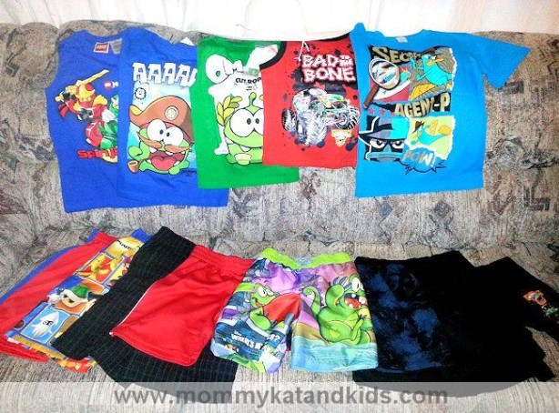 boys summer wardrobe walmart