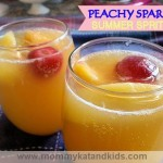 Minue Maid Peachy Sparkler Recipe
