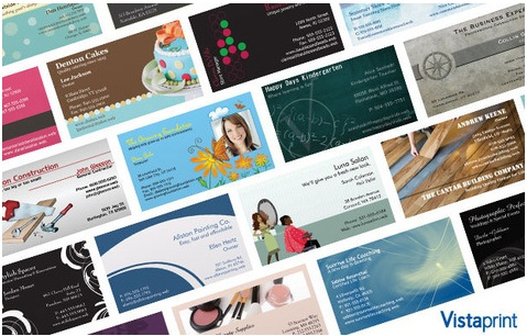 vistaprint deals business cards