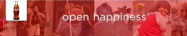 coca-cola happiness banner
