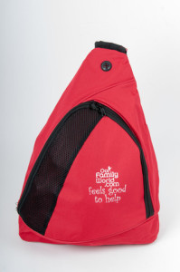 our family world sling backpack