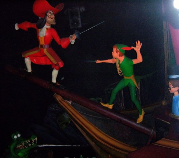 peter pan's flight disneyland