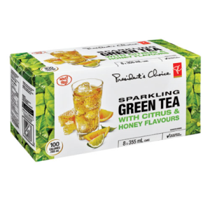 president's choice sparkling green tea