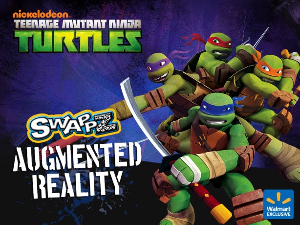 tmnt swappz augmented reality