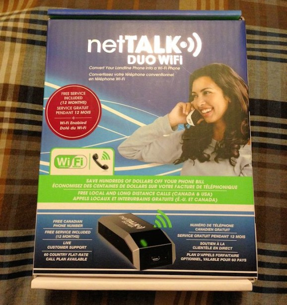 nettalk duo wifi box