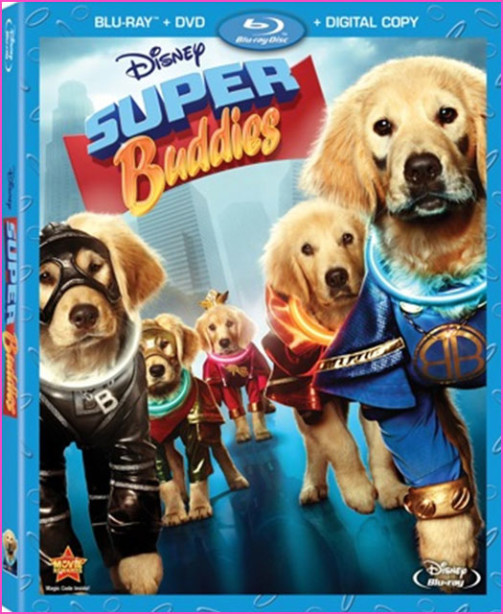disney super buddies box art
