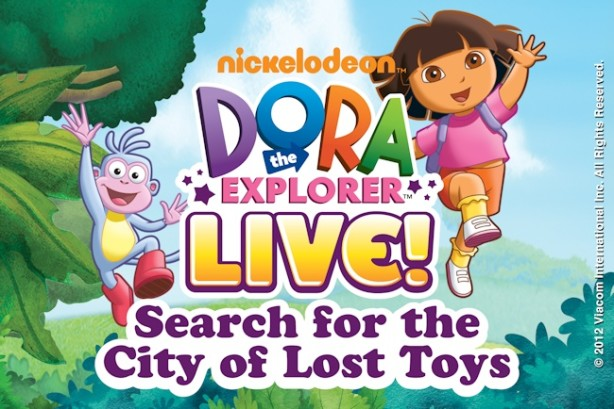 dora the explorer live city of lost toys