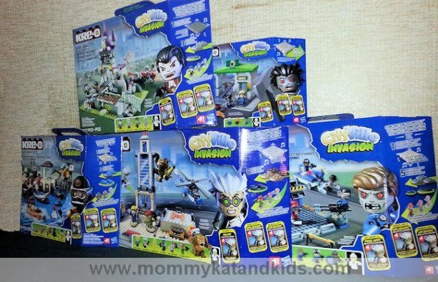 kre-o cityville invasion sets