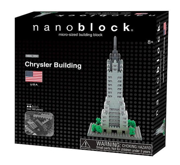 nanoblock chrysler building set