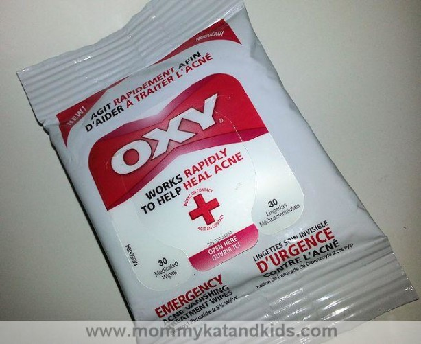 oxy emergency acne wipes