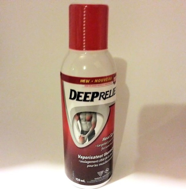 deep relief heat spray