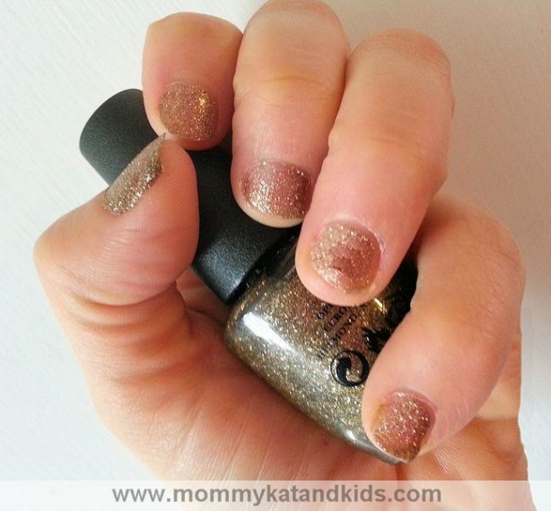 opi mariah carey holiday all sparkly and gold