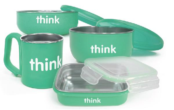 paperless kitchen thinkbaby feeding set