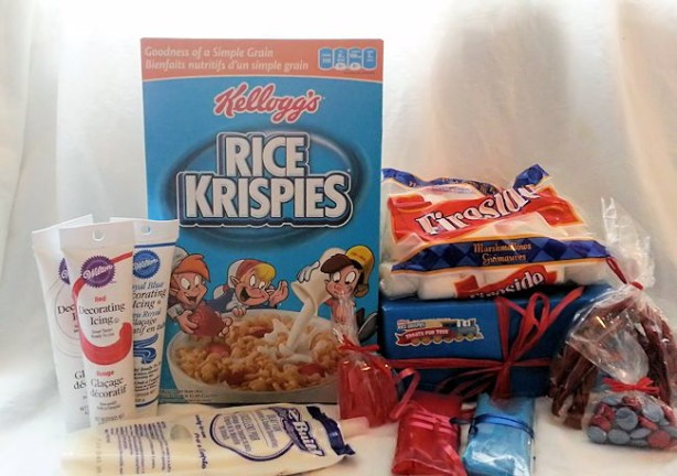 rice krispies treatsfortoys package