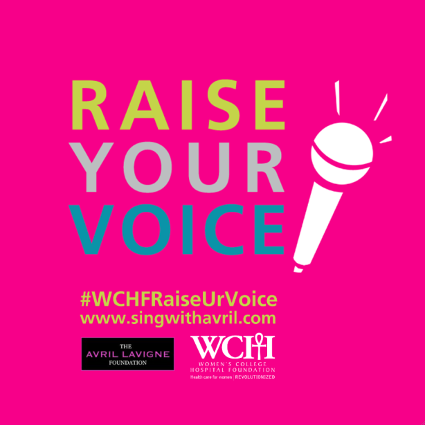 raise your voice wchf fundraiser