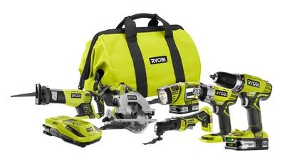 ryobi one+ lithium 18v ultimate combo kit
