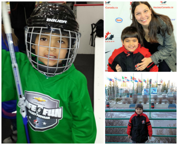 chevrolet safe and fun hockey program