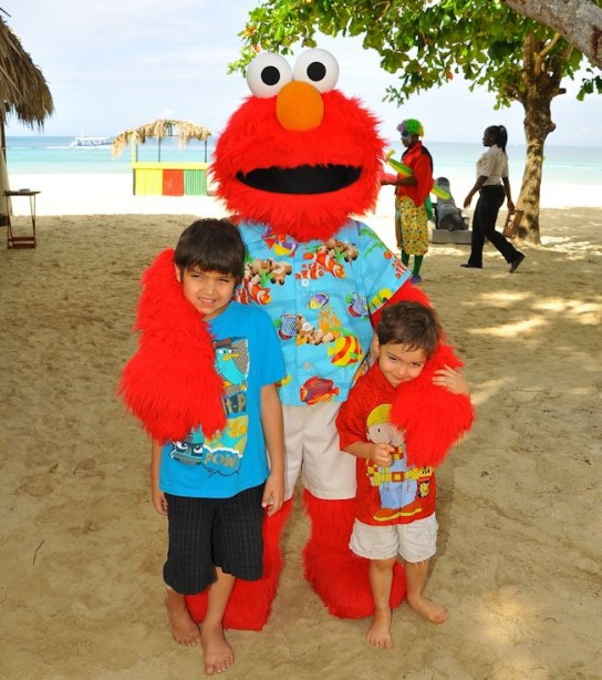 beaches resort negril jamaica boys elmo