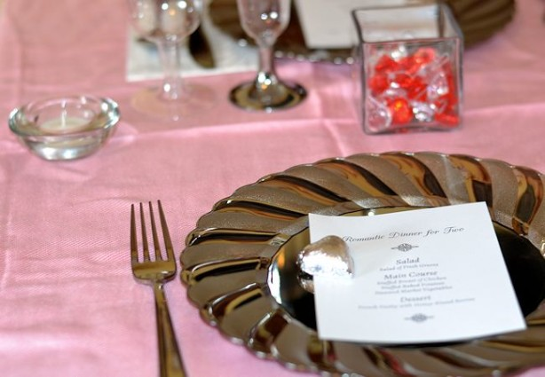 whish valentine's day table