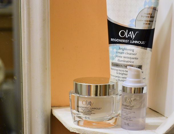 olay regenerist luminous products