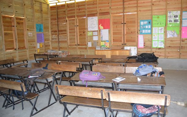 schoolroom st. airy school negril jamaica