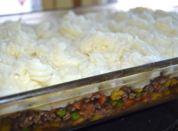 shepherd's pie healthy version