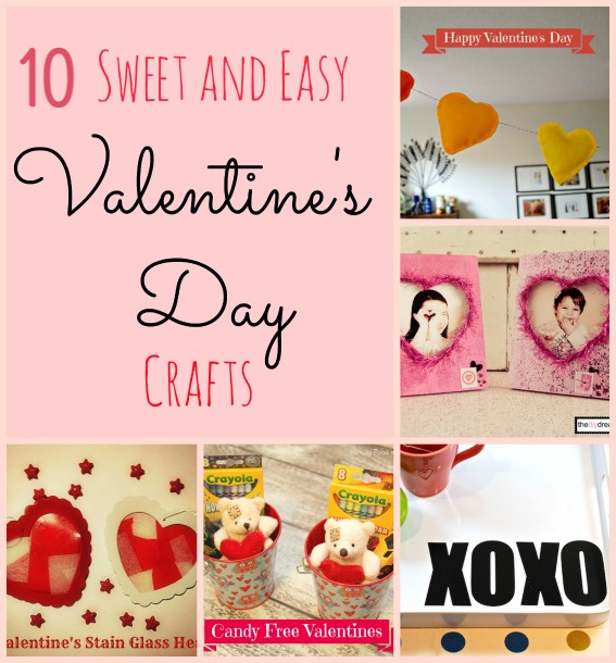 valentine's day pinterest collage