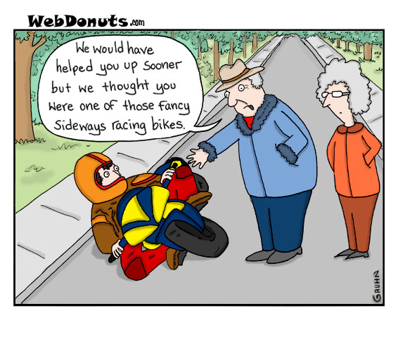 webdonuts gruhn sideways cartoon