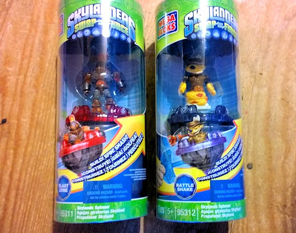 mega bloks skylanders swap force spinner