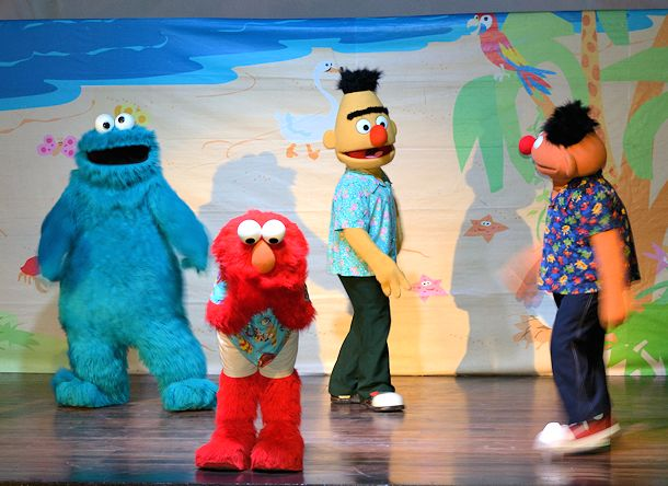 nightly sesame street show