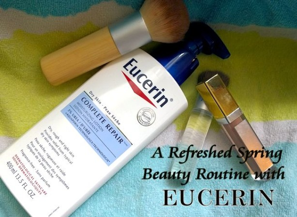 eucerin beauty routine for summer