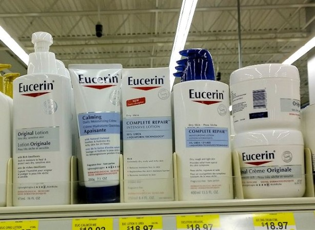 eucerin on shelf