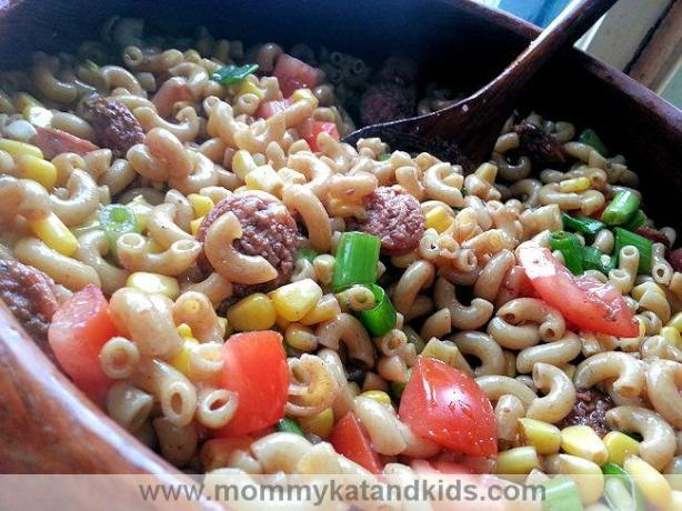 mexican toss pasta salad