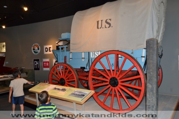 us frontier army wagon