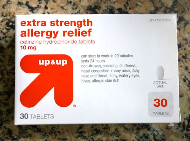 target up & up allergy medication