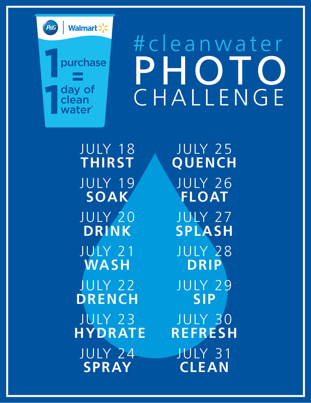 cleanwater photo challenge