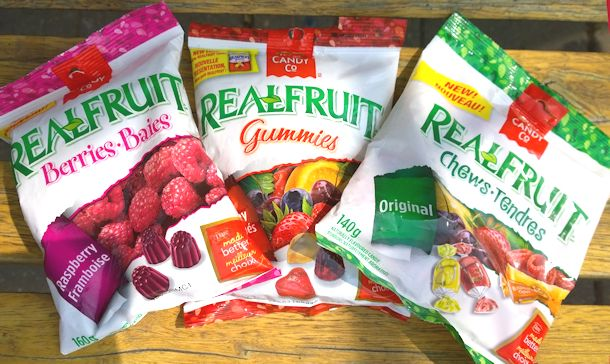 dre realfruit berries and chews