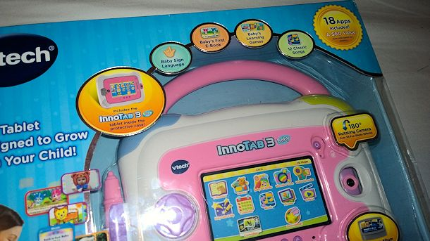 innotab 3 baby features