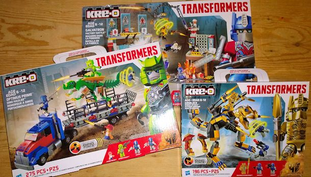 kre-o transformers age of extinction sets