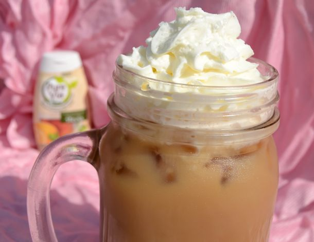 pure via creamy salted caramel latte recipe