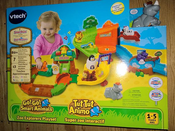 vtech go go smart animals zoo playset