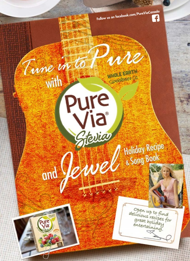 pure via tune into pure recipe and song book