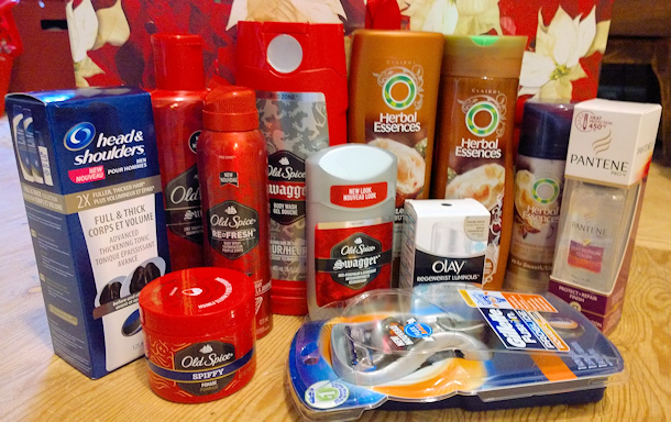 P&G his and hers beauty grooming prize pack