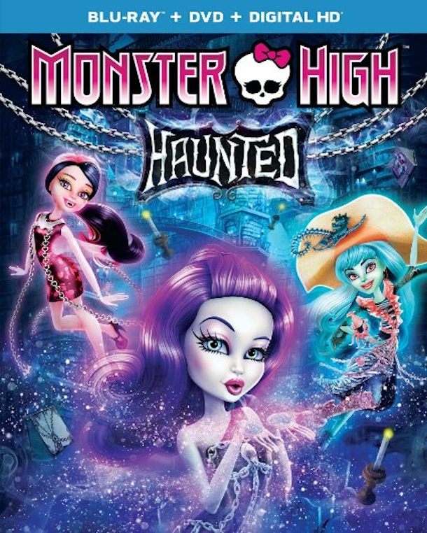 monster high haunted dvd