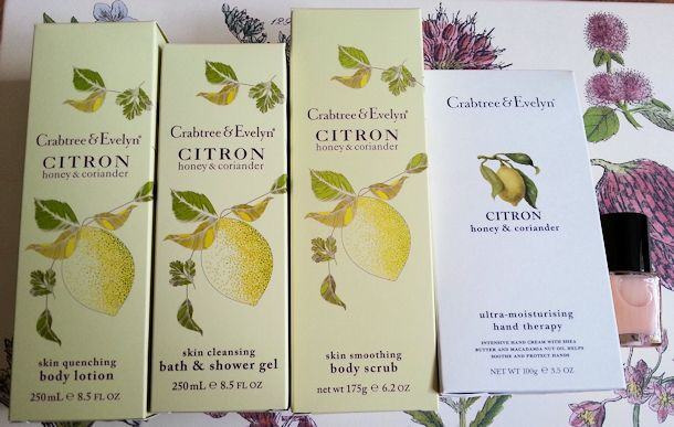 citron honey coriander deluxe gift products