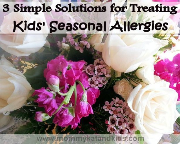 3 solutions for treating kids' seasonal allergies